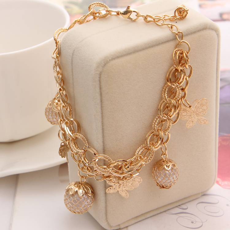 Aliexpress.com : Buy Fashion Gold Plated Bracelets For ...