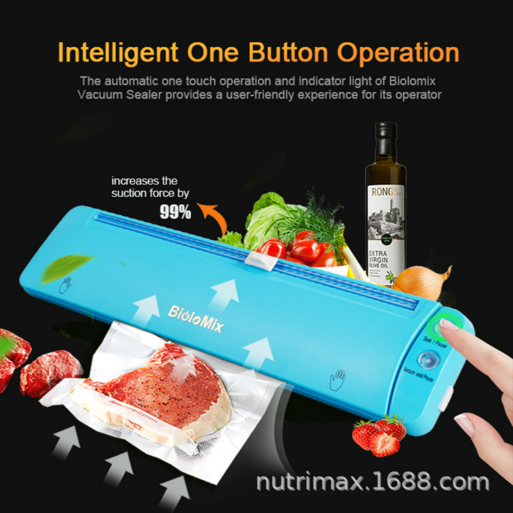 110/220V dry and wet universal Fully automatic Preservation machine Household Vacuum packaging machine Vacuum sealer