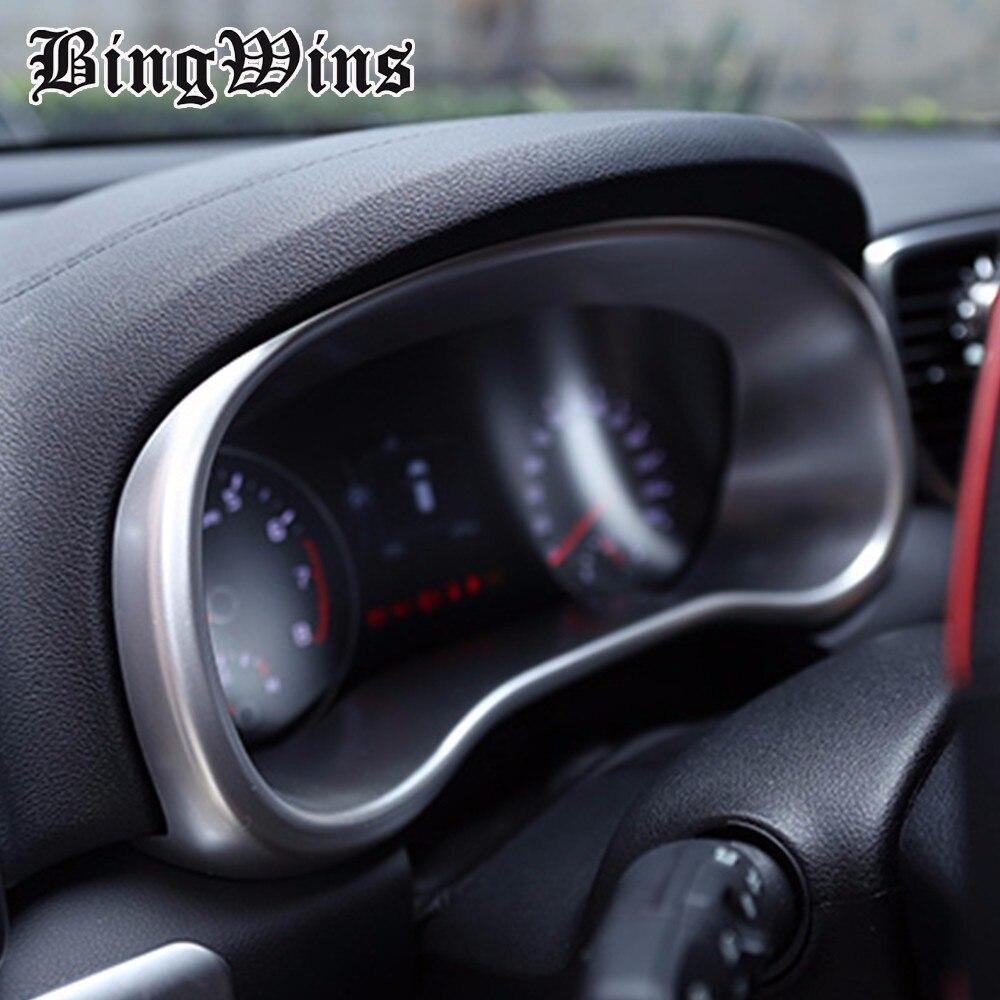 ABS mat tableau de bord instrument panneau garniture couverture de voiture style accessoires de voiture intérieur 3d autocollant Pour Kia sportage KX5 2016 2017