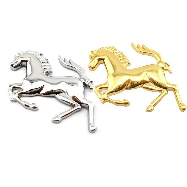 3D Ferrari Horse Emblem (2 Types)