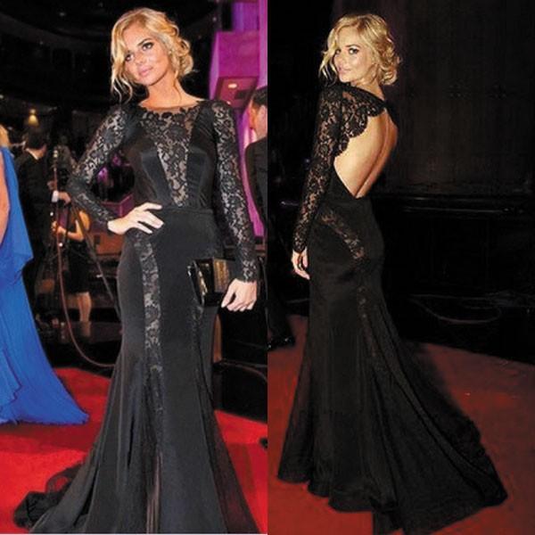 black celebrity dresses