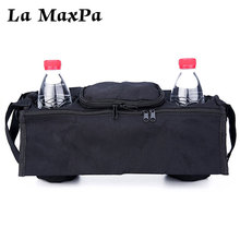 Baby Stroller Accessoris Bag New Cup Bag Stroller Organizer Baby Carriage Pram Buggy Cart Bottle Bag Car Bag Yoya