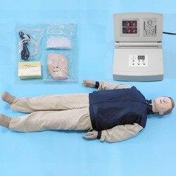 BIX/CPR480 Adult Full Body Electronic CPR Cardiopulmonary Resuscitation Manikin Model Medical Science W104