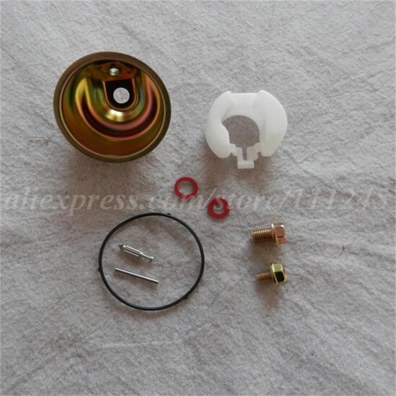 CARB REPAIR KIT FOR HONDA GX110 GX120 GX140 GXV140 CHAMBER FLOAT PIN SCREW WASHER NEEDLE VALVE SPRING O RING CARBURETOR REBUILD black throttle base cover carburetor for honda trx350 atv carburetor trx 350 rancher 350es fe fmte tm carb 2000 2006