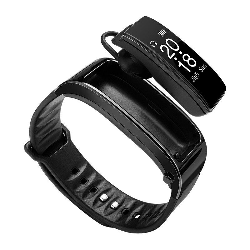 Bluetooth Y3 Casque Smart Talk bande Bracelet moniteur de fréquence cardiaque Sport Montre Smart Watch Bande Passometer Fitness Tracker Bracelet