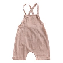 Stylish Baby Overalls With Solid Comfortable For Your Child To Dress