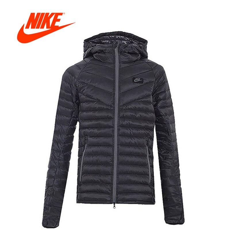 Original New Arrival Nike Men Jacket DWN FLL GUILD Windproof Hooded Jacket Leisure Sportswear original nike men s black knitted jacket hooded sportswear