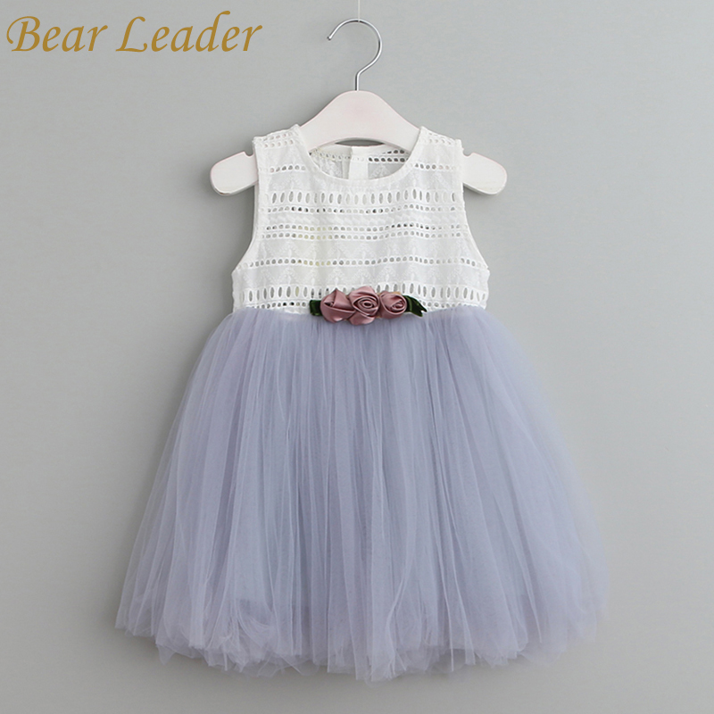 Bear Leader Girls Dresses 2018 Summer Style Sleeveless Children Clothes Flowers Design Cute Ball Gown  for  Baby Girl Dress 3-8Y deborah trendel leader iv therapy for dummies
