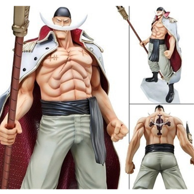 [] Anime One Piece POP Whitebeard Edward Newgate 1/8 Scale Completed PVC Figure 28cm/11inch Big Model Toy New in Box 5975