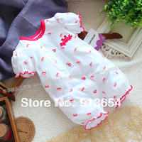 Free Shipping Retail New 2013 Baby Clothing Summer Baby Jumpsuit Kids Short Sleeve Bodysuit Cute Baby