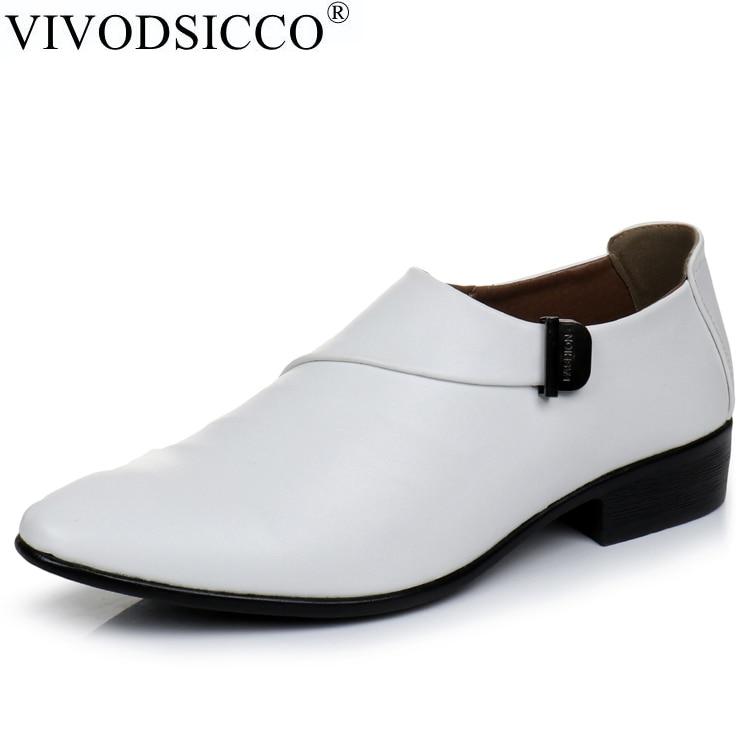 dbf86ed65c VIVODSICCO Novos Negócios Homens Se Vestem Sapatos Estilo de Moda ...