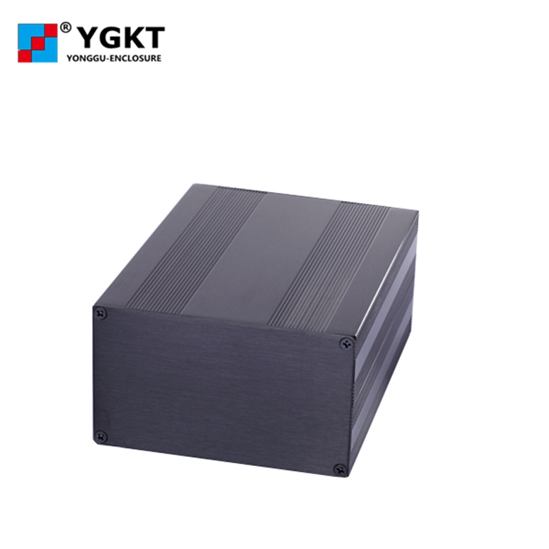 145-82-Nmm(W-H-L)Extruded Aluminum Electronic Sensor Enclosure Pcb Instrument Box Case Project,extruded aluminum case