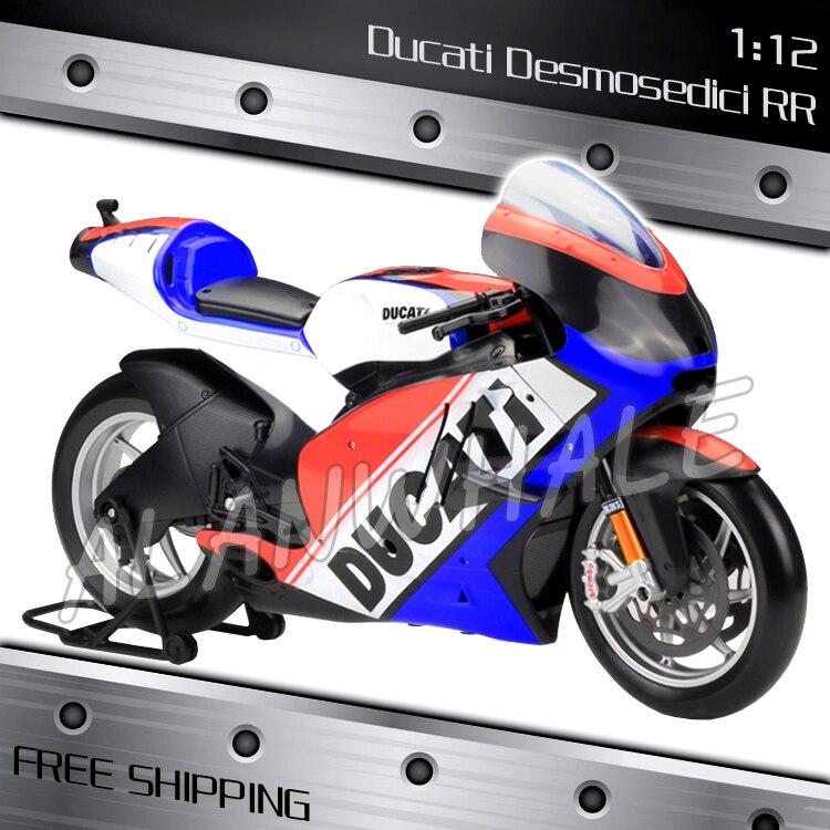1:6 Scale New Ducati Desmosedici 2011 Metal Diecast Model Motorcycle ...