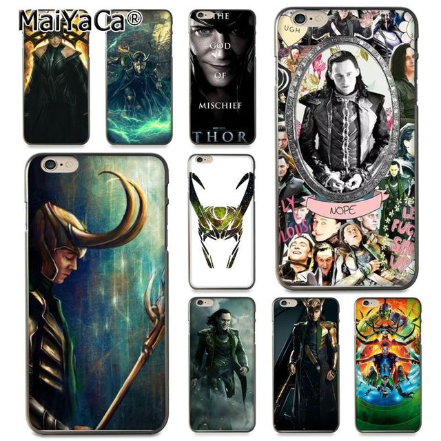 Maiyaca Loki Thor Coque Shell Phone Case For Apple Iphone 8 7 6 6s
