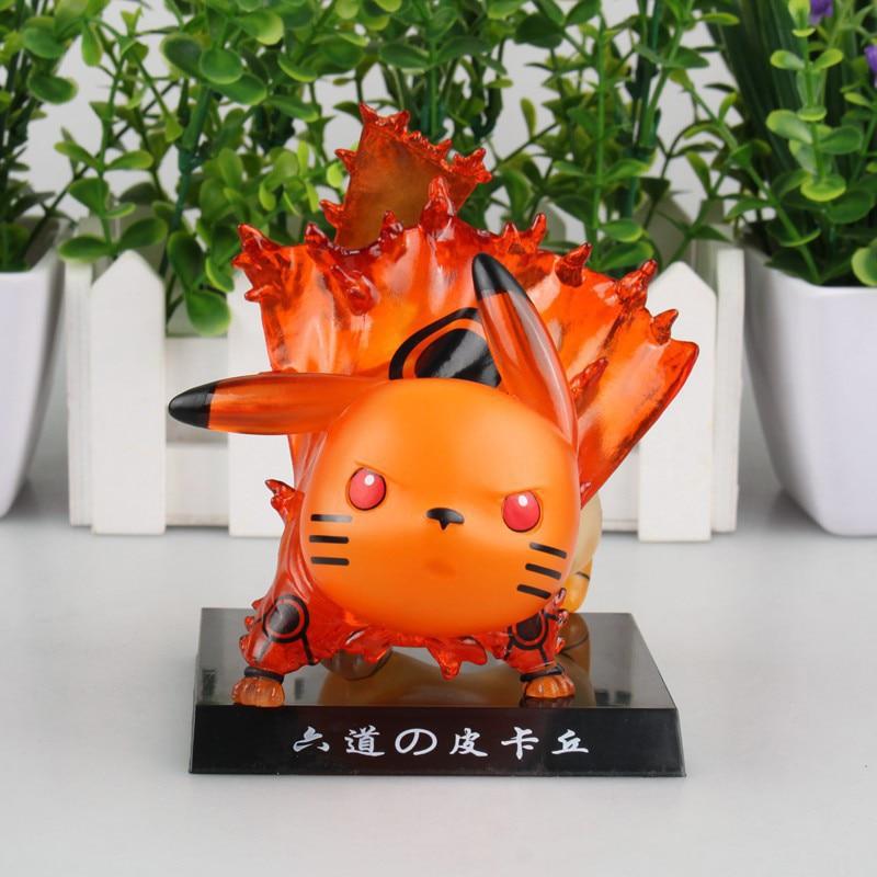 Naruto Pikachu Cos Kurama Ver. Naruto Action Figure ...