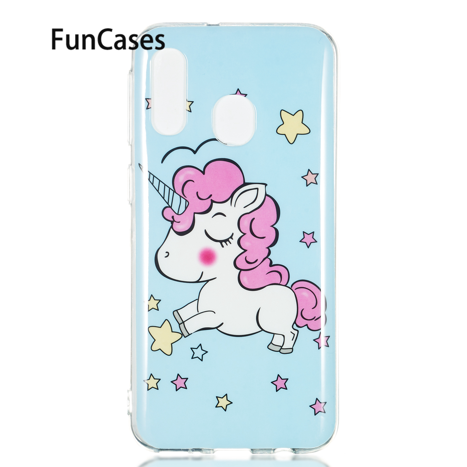 Smartphone Cover For phone case Samsung A70 Deer Soft Silicone Cover sFor Balr Samsung Galaxy carcaso A40 A50 A8S Fundas