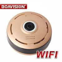 360 градусов HD 960 P WI FI IP Cam панорама Ночное видение мини Беспроводной Видеоняни и радионяни видеонаблюдения Cam приложение P2P вид