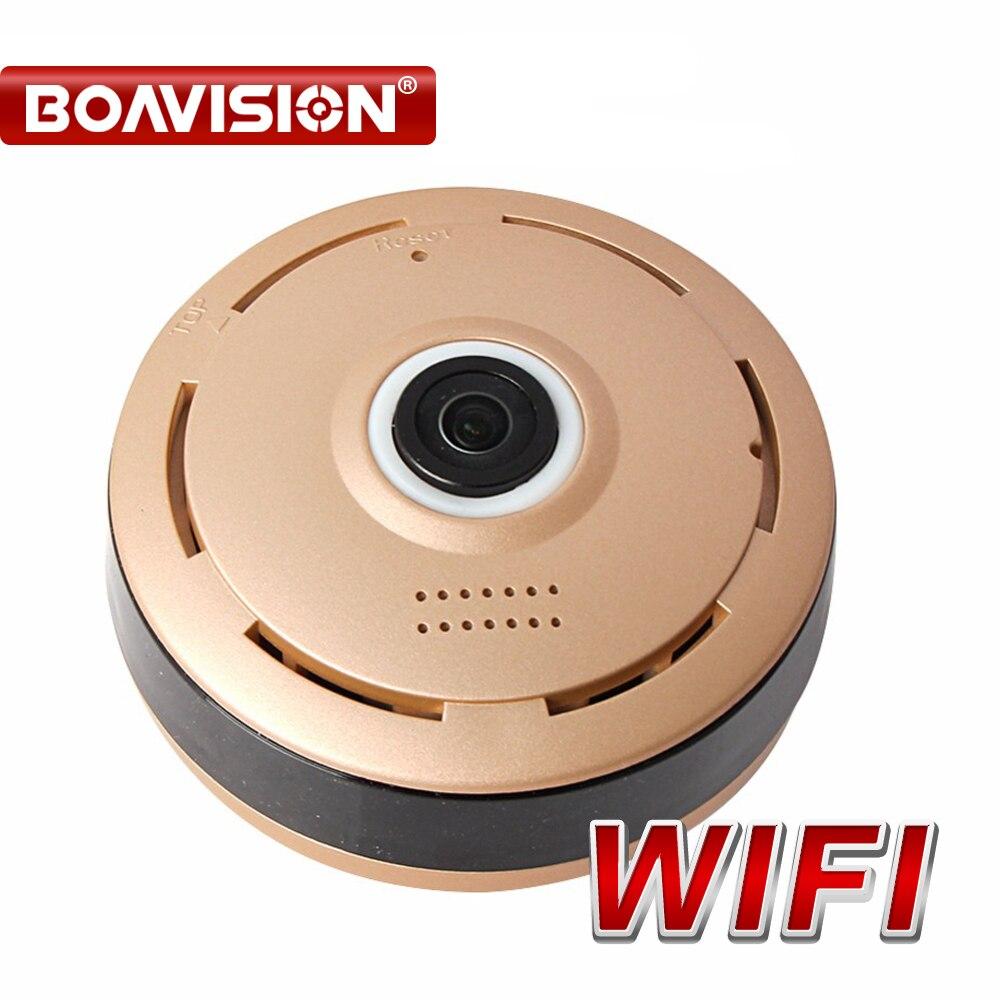 360 Degree HD 960P WIFI IP Cam Panorama View Night Vision Mini Wireless Baby Monitor CCTV Security Surveillance Cam APP P2P View