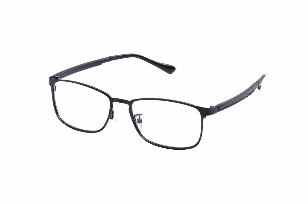 Ev metal ojo Gafas Marcos W/claro lente para hombres monturas de ...