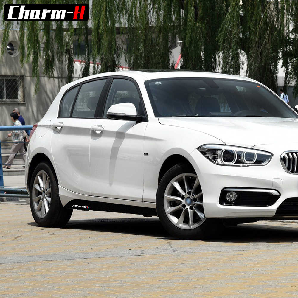 2 Cái Phong Cách Mới M Hiệu Suất Mặt Váy Xà Sọc Đề Can Dán Cho Xe BMW Series 1 Series F20 F21 118i 120i 125i 128i 135i M