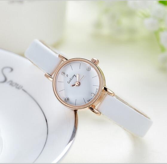 Brand Gogoey Women Watch Fashion Quartz Girl Leather Wristwatch Mujer Reloje Gift Hour Casual Watch Relogio Feminino Clock