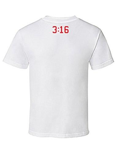 Newest 2017 mens fashion Mens PRINTED Bible 3:16 Jesus Love Us Graphic Design T-Shirt Mens Shirts Men Clothes Novelty Cool