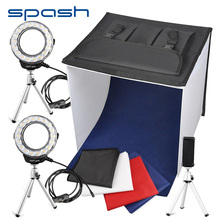 spash K40II Portable Studio Light Box Foldable Softbox Shooting Tent LED Photo Box 40cm 3200K-9000K CRI85 Mini Photo Studio