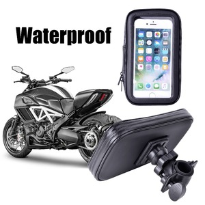 Image 1 - 방수 자전거 전화 홀더 전화 스탠드 지원 아이폰 4 5 6 플러스 자전거 gps 홀더 전화 가방 모토 suporte 파라 celular