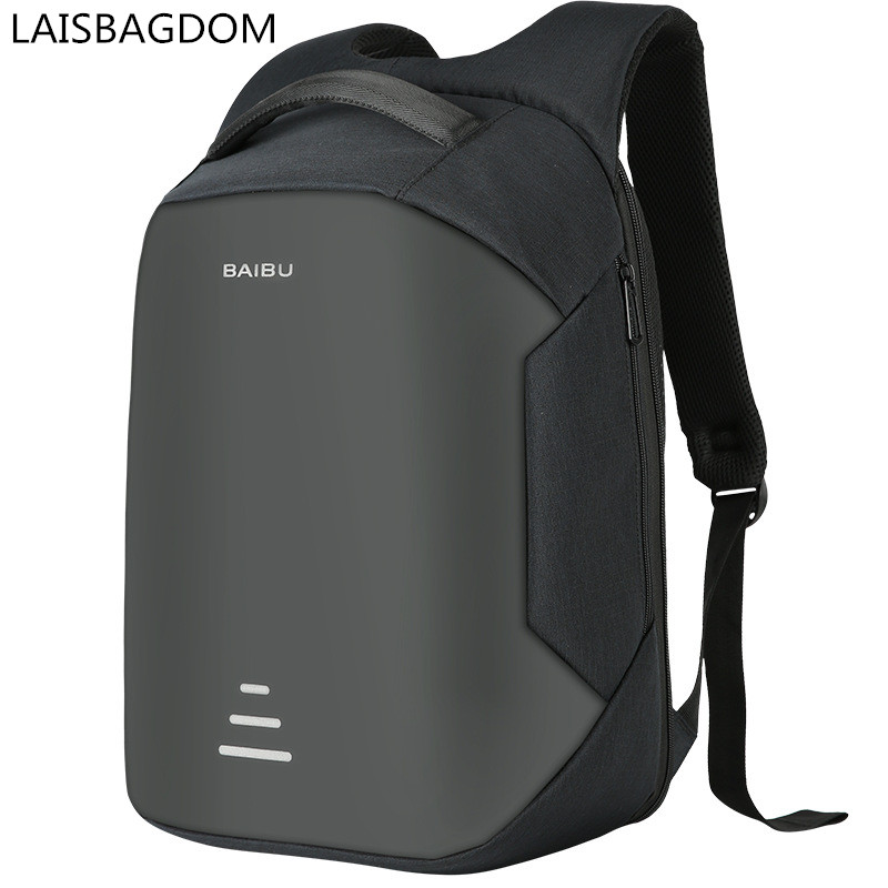 Urban <font><b>Backpacks</b></font> for Men Anti-theft <font><b>Backpack</b></font> USB Charging Travel <font><b>Backpacks</b></font> Fashion Waterproof Computer Bags Men Business <font><b>Backpack</b></font>
