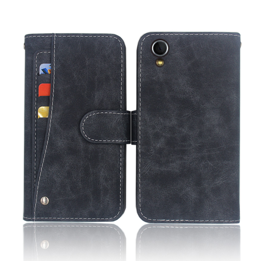 Hot!For Philips V787 Case High quality flip leather phone bag cover case for with Front slide card slot