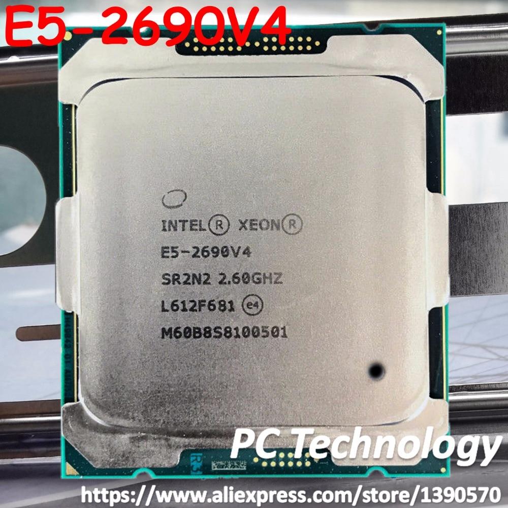 E5 2690V4 Original Intel Xeon E5 2690V4 QHV5 2 40GHZ 14 Core