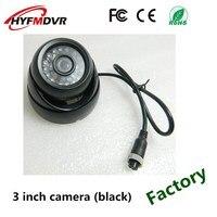 Źródło wsparcie fabryczne do przyczep i naczep WYWROTKA 1080 P HD piksele 3 Cal metaliczny czarny obudowa samochodu kamera sondy w Kamery pojazdowe od Samochody i motocykle na