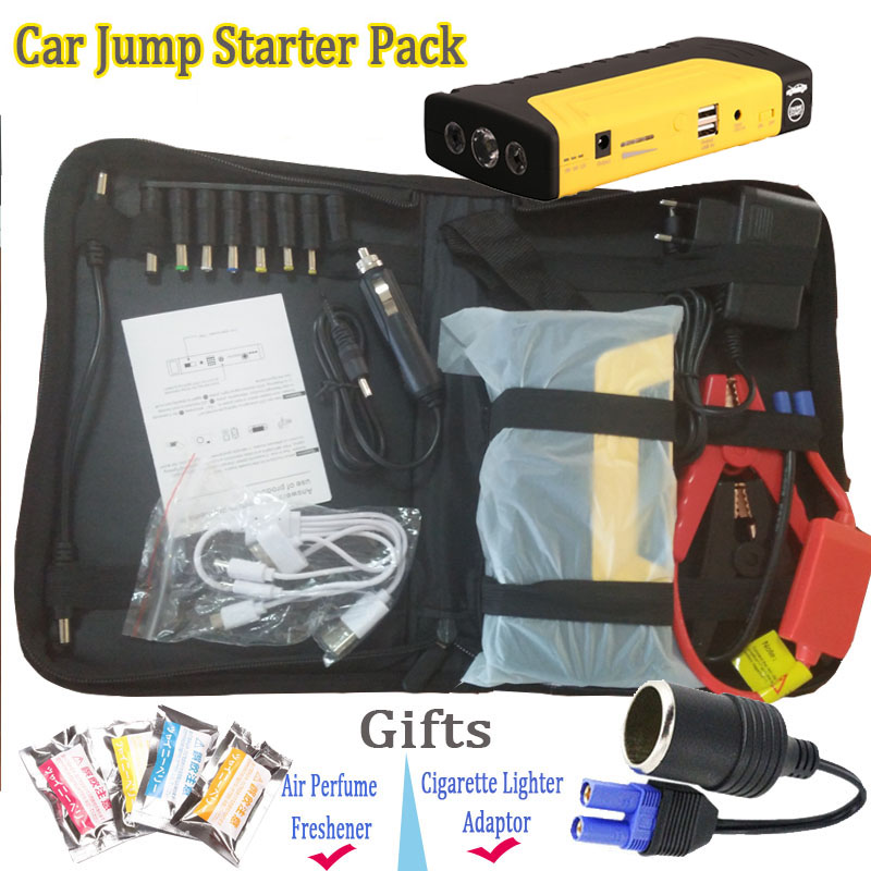 Auto Igniting Device 12v Power Pack 9000mAh Car Jump Starter Motor Booster Car Engine Jump Start Air <font><b>Freshener</b></font> Cigarette Lighter