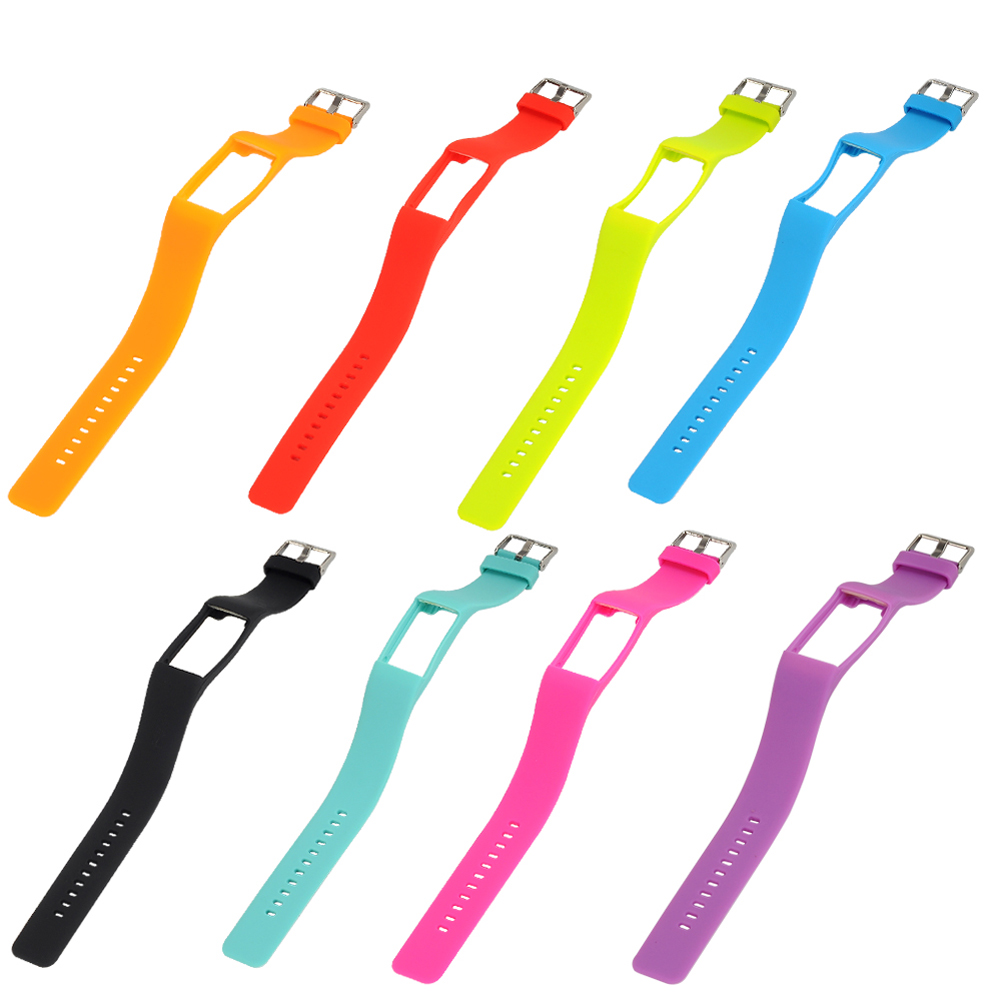 где купить 8 Colors Replacement Wrist Strap Silicone Band Classic Stainless Steel Buckle for Polar A360 Fitness Tracker Best Matches Watch по лучшей цене