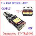 Novo Canbus NENHUM ERRO 7.5 w T15 W16W 15SMD LED Reverso Luz Backup Lâmpada traseira luz BRANCA