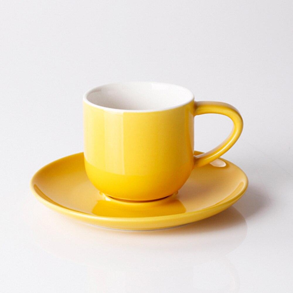 porcelana cup saucer set multicolor canecas de café pavão xícara