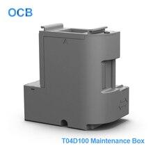 C13T04D100 T04D100 EcoTank דיו תחזוקה תיבת פסולת דיו טנק עבור Epson L6160 L6161 L6168 L6170 L6171 L6178 L6190 L6191 L6198