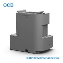 صندوق صيانة الحبر من ecot04d100 EcoTank خزان حبر النفايات لإبسون L6160 L6161 L6168 L6170 L6171 L6178 L6190 L6191 L6198