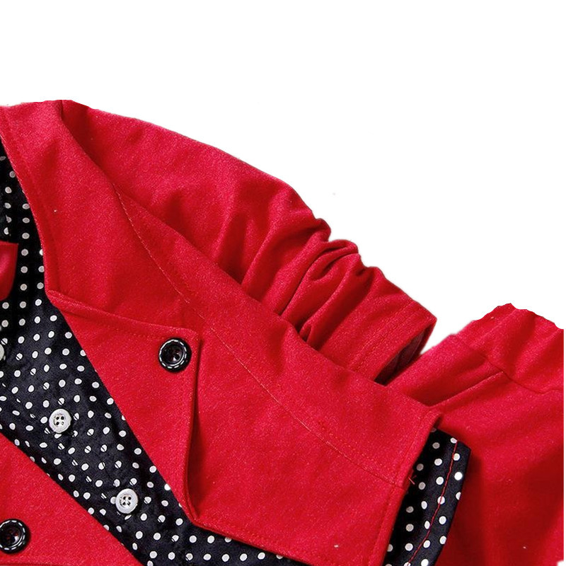 Conjuntos de ropa para niños Nuevo 2016 Primavera Estilo británico - Ropa de ninos - foto 2