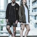 New Fashion Punk Style Cotton Women Men Baseball Jacket Overcoat loose & unisex Embroidered Patchwork Tracksuit