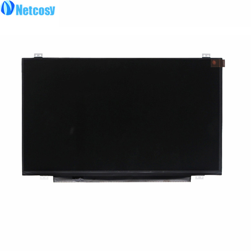Netcosy HB140WX1-300 New 14.0 Glossy WXGA HD Slim LED LCD Screen 40Pin 14 0 lcd laptop screen boe hb140wx1 601 hb140wx1 led panel for new 14 wxga hd display matte
