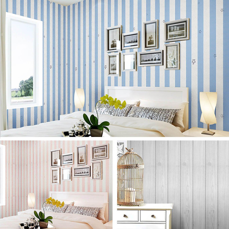 NC 10m x 45cm Self Adhesive Furniture Decorative Film Wall Stickers Wallpaper for Bedroom Kitchen Cabinet Wardrobe Decoration ...