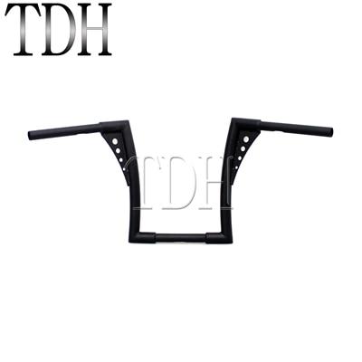 Manubrio Dragbar Flat 1 per Harley Softail Springer//Standard cromo
