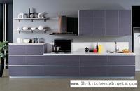 Melamine Mfc Kitchen Cabinets LH ME005