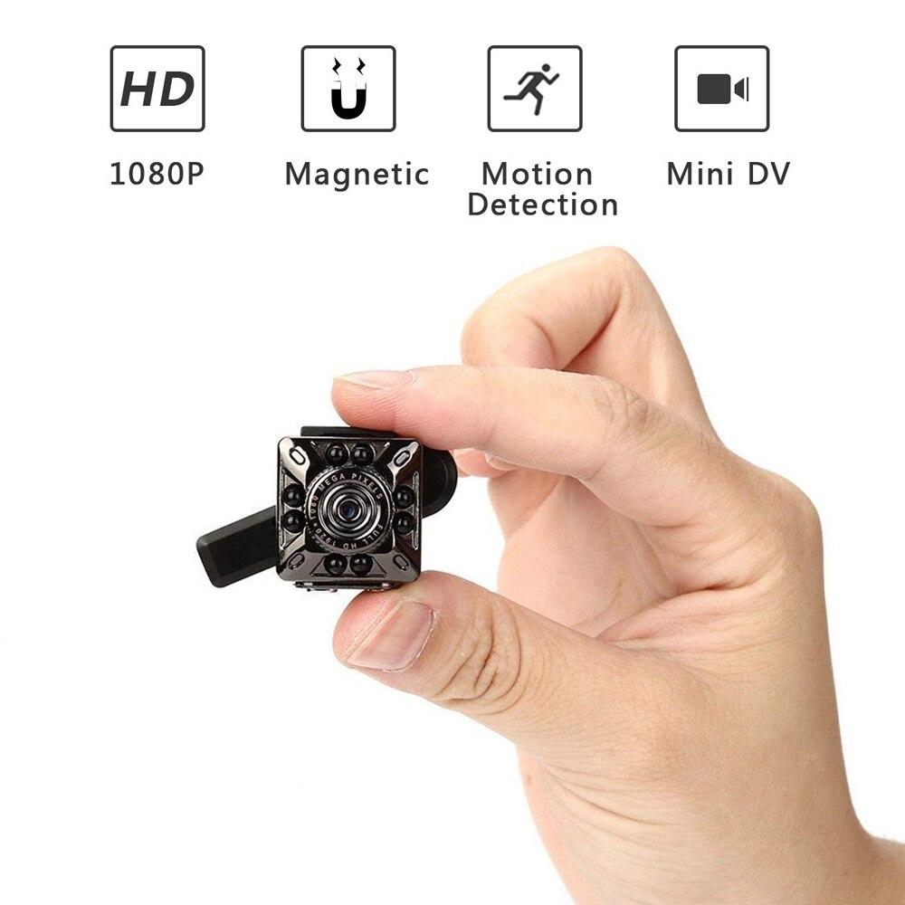 SQ10 Mini Caméra 1080 p Portable Caméscope de Sécurité petit cam avec Vision Nocturne de Détection de Mouvement Cachée par Appui TF carte pk sq 8