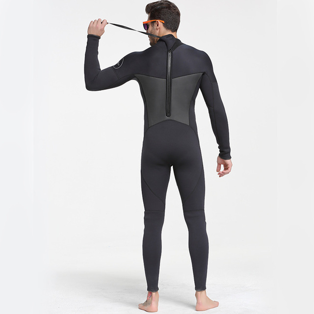 Sbart New One-Piece Neoprene 3mm Diving Suit Winter Long Sleeve Men Wetsuit Prevent Jellyfish Snorkeling Suit Free Shipping S853