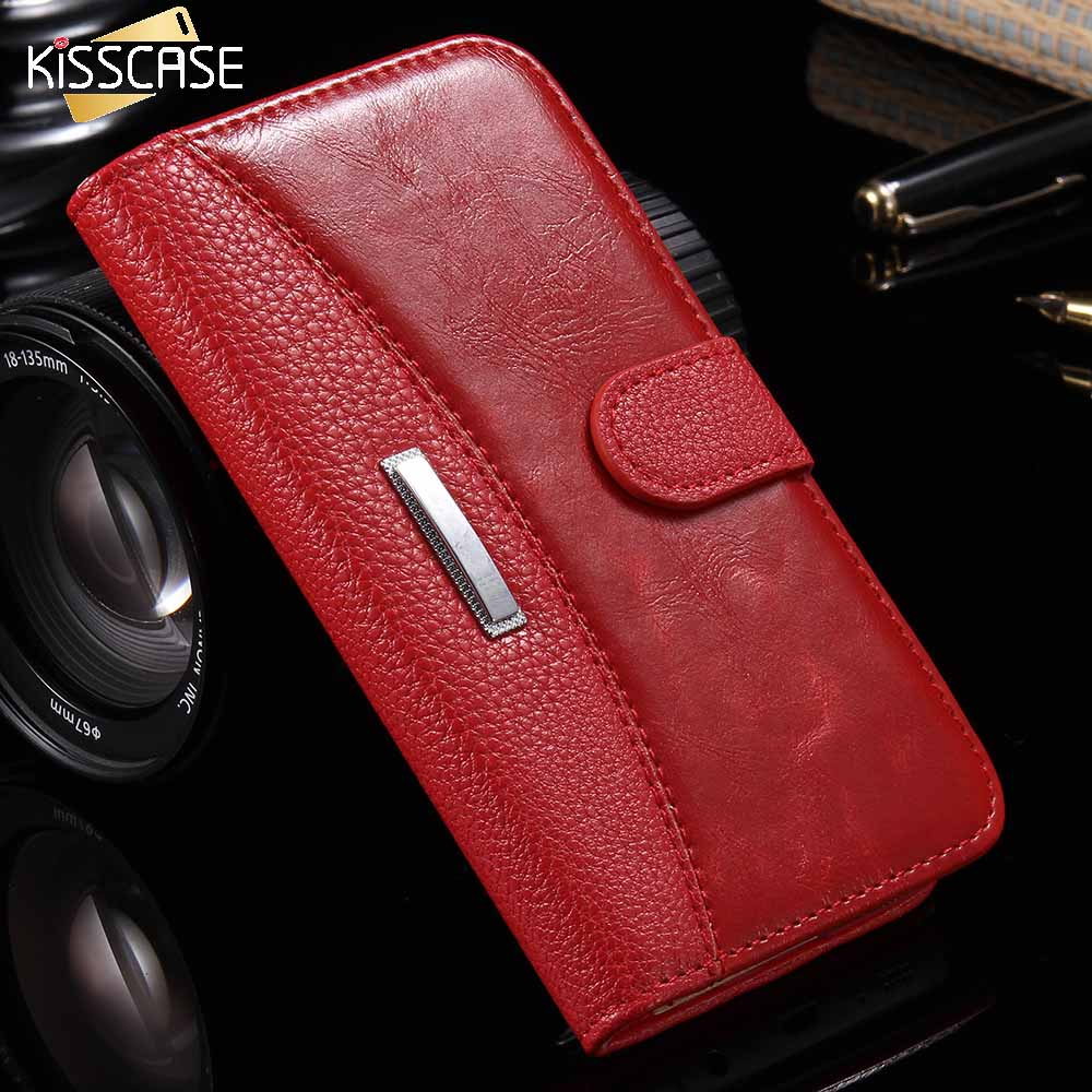 KISSCASE Business Leather <font><b>Case</b></font> For <font><b>iPhone</b></font> 7 <font><b>8</b></font> 6 5S <font><b>Magnetic</b></font> Stand Flip Phone Bag Cover For <font><b>iPhone</b></font> 7 6 6S <font><b>8</b></font> X XS Plus <font><b>Case</b></font> Fundas image