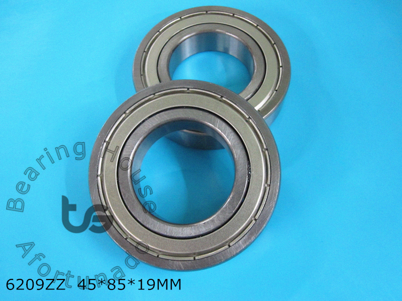 6209ZZ 1 Piece bearing 45*85*19(mm) ABEC-5 metal sealing bearings 6209Z 6209ZZ CHROME STEEL DEEP GROOVE BEARING 1 piece bu3328 6 6 33 27 5 29 5 mm z25 guide rail u groove plastic roller embedded dual bearing