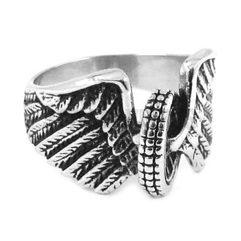 Eagle Wings Motorbike Tire Ring 1