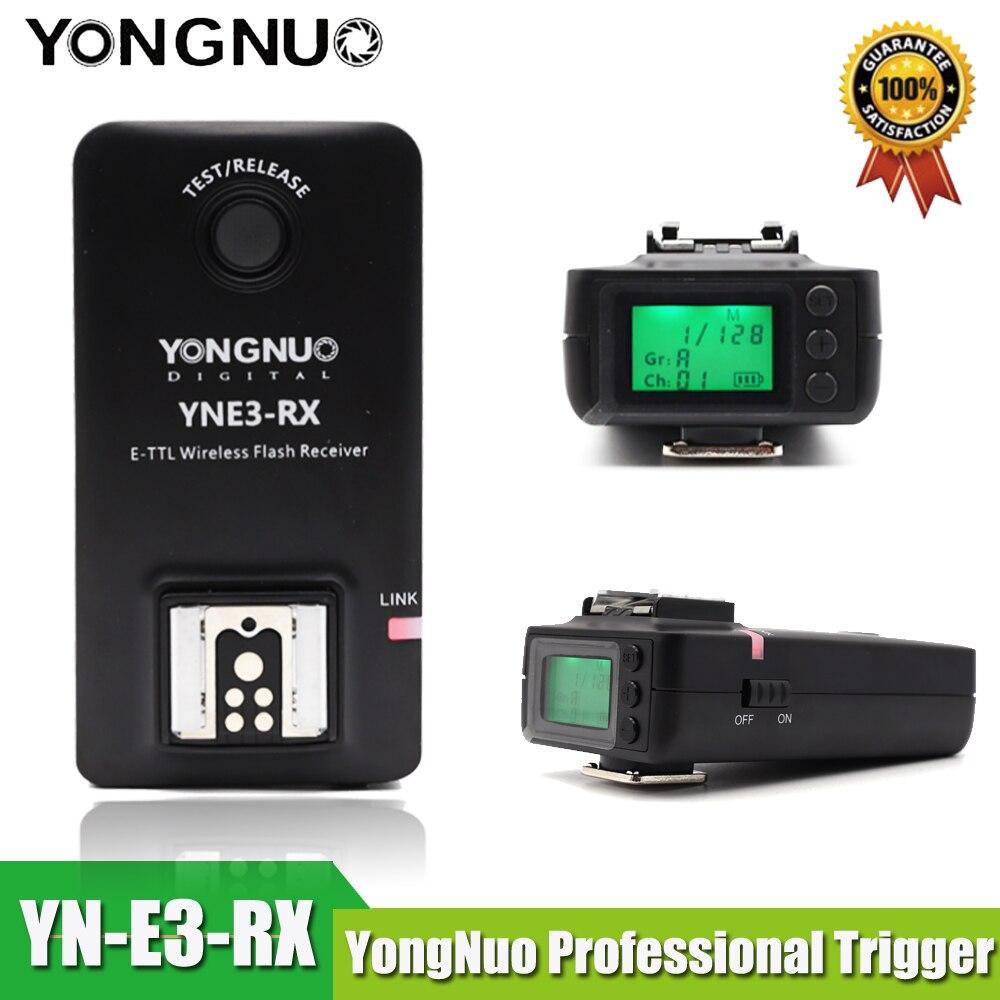 Yongnuo YN E3 RX e TTL bezprzewodowej lampy błyskowej odbiornik dla YONGNUO YN568EX II, YN565EX II YN600EX RT, dla Canon 580EX II 600EX RT, YNE3 RX w Lampy błyskowe od Elektronika użytkowa na  Grupa 1